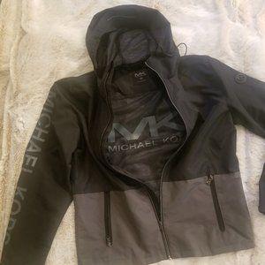 Michael Kors Mens Black/Grey Lightweight Jacket